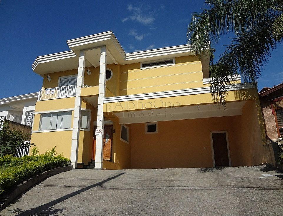 Casa em Condomínio Alphaville 09, Santana de Parnaíba (1554)